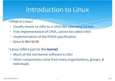 Introduction to Linux I Chapter 19 Exam Answer 2016