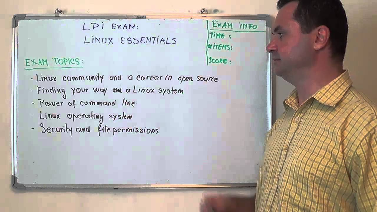 Linux Essentials Midterm Test Online (Modules 1 – 8) 2016