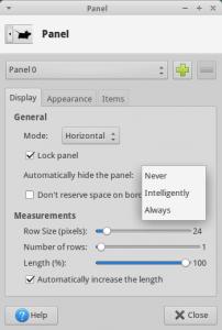 xfce_4_12_Panel_Intelligently_Mode