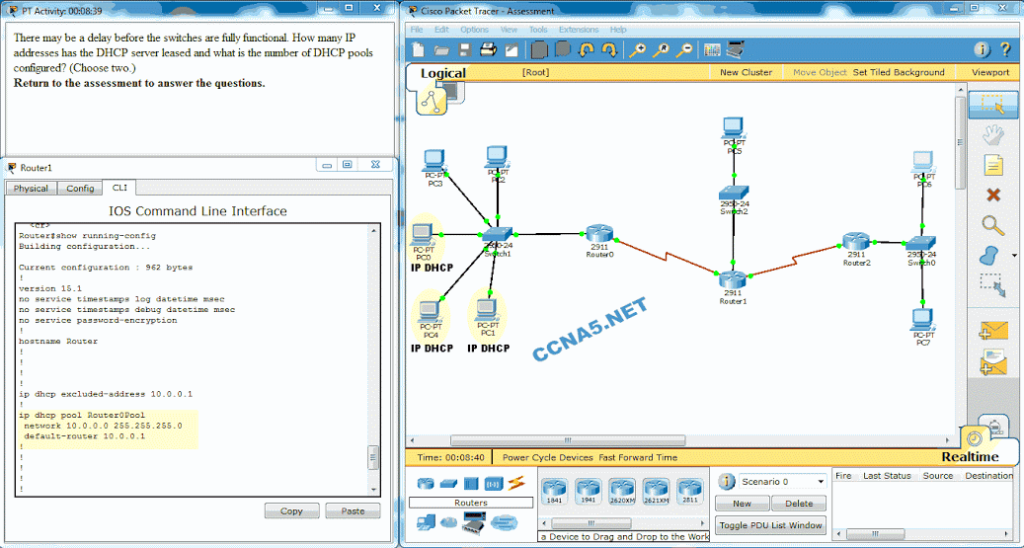 CCNA 2 Routing & Switching Essentials v6 0 - Chapter 10 Exam