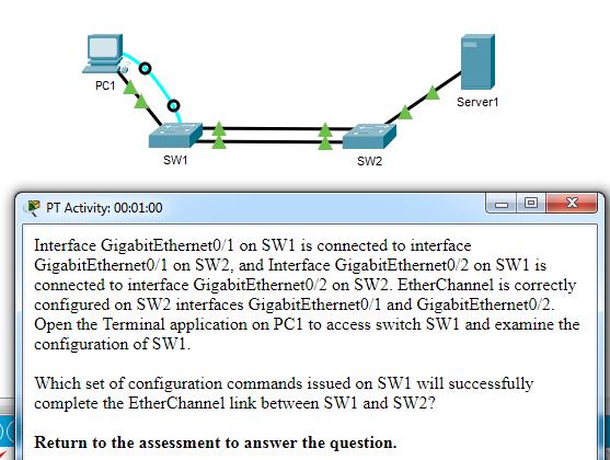 CCNA-2-v7-Modules 5 - 6 Redundant Networks Exam 07